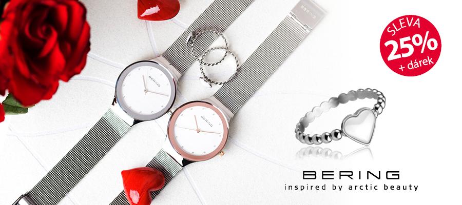 622b59520f5 K hodinkám BERING prstýnek jako dárek. Platí pouze v e-shopu a prodejnách